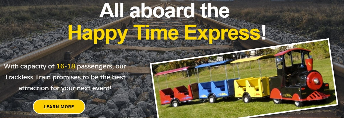 Happy Time Party Rentals, Kids Party Jumpers & Water Slide Rentals